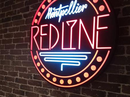 Effet néon : Bar musical Montpellier Red Line