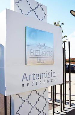 Totem Résidence Artemisia - Helenis