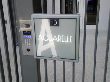 Signalétique Résidence Aquarelle > Kokliko Design