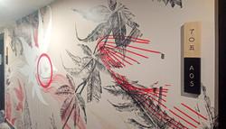 Conception signalétique par l'Artiste Clara Langelez
