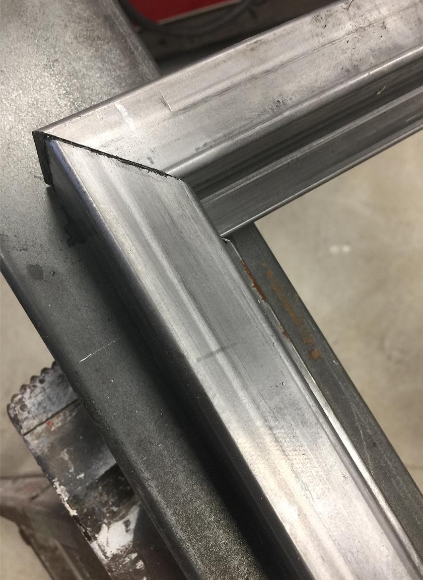 cadre en acier