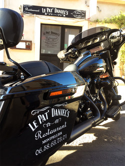 Marquage moto
