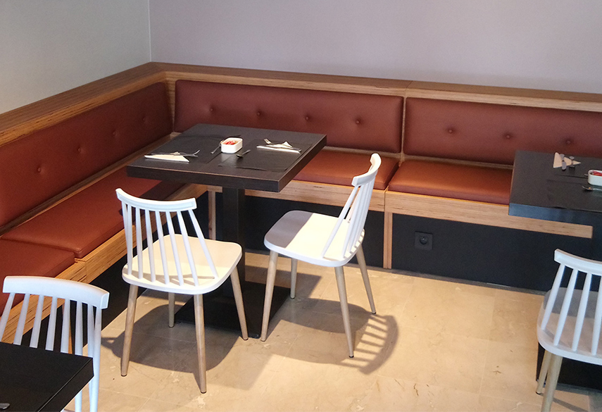 Banquette d'angle
