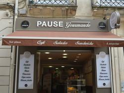 Devanture Pause Gourmande