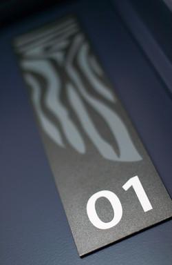 Résidence Vermentino : Plaque de porte