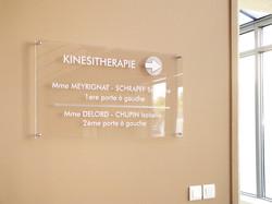 Signalétique Cabinet Kinésithérapie