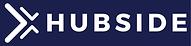 Hubside_Logo_Blanc fond bleu 2766C.png