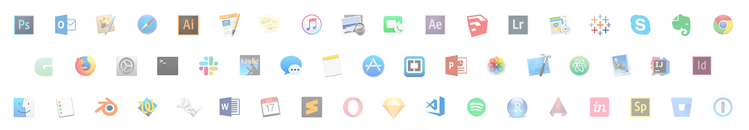 Some of the 140+ software programs supported by Button Shortcuts