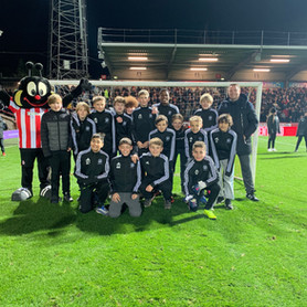 U13s visit Griffin Park as guests of Brentford FC