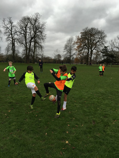 U11 District Football Challenge Marble Hill Park.