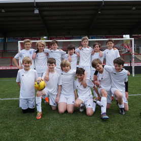 Moor Mead FC grace the pitch at Griffin Park