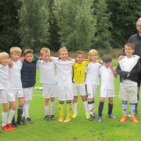 Under 9s Win Comfortably in First Ever League Match