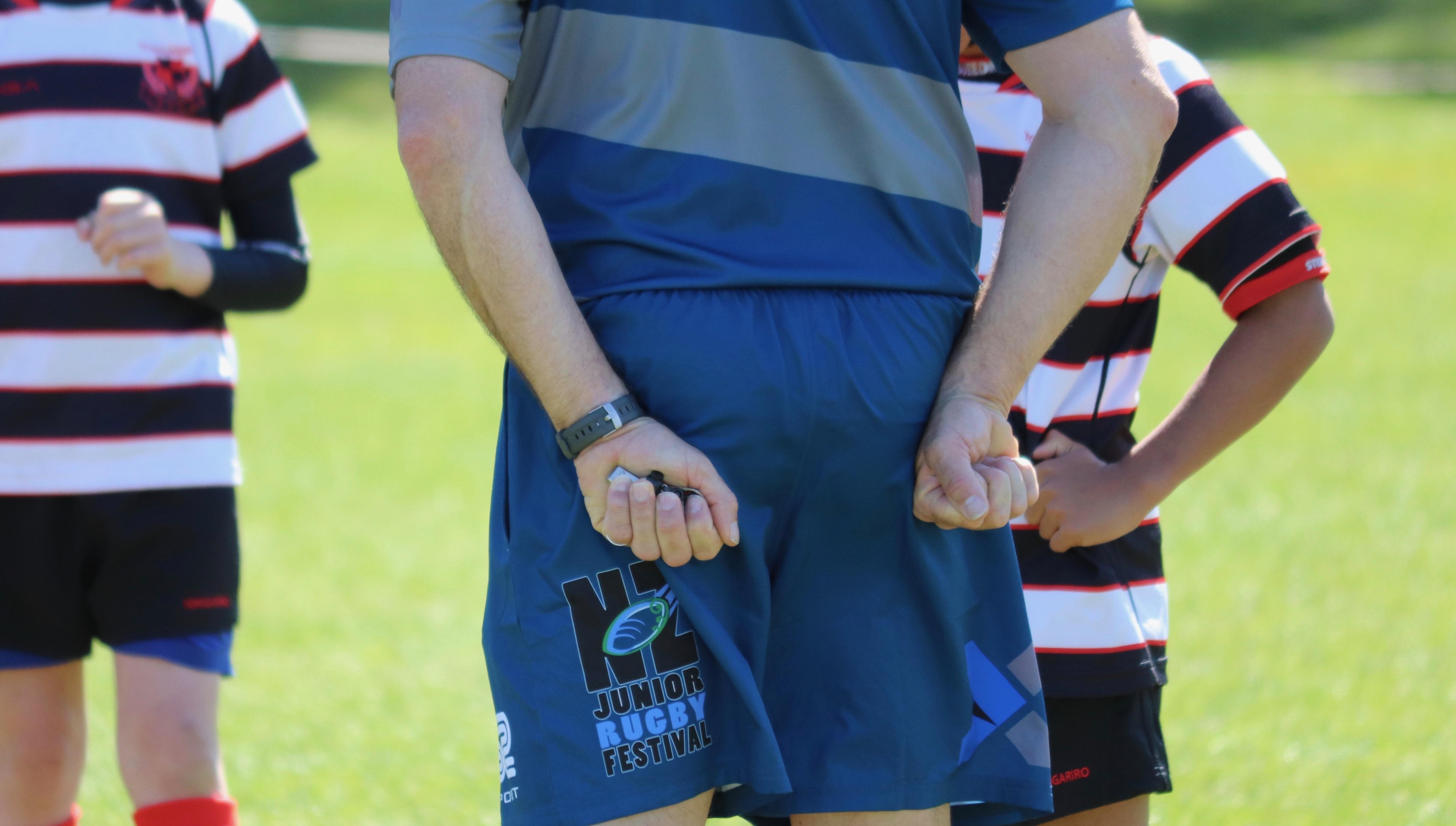 Referee hands