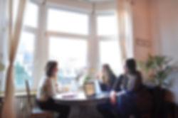 Poolster Producties vergadering lancering team