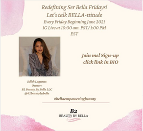 Re-defining Ser Bella!