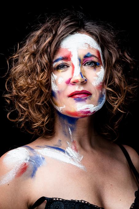 Retrat artístic de la terapeuta Susanna Arjona