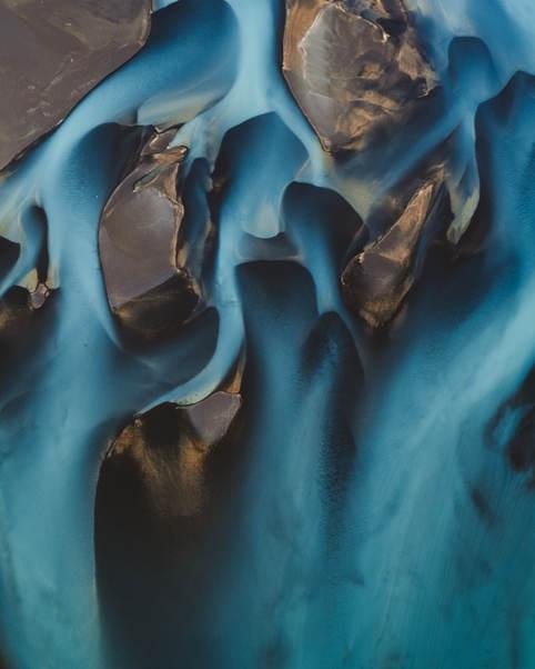 River veins.