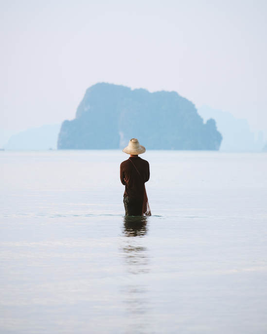An observer fisherman.