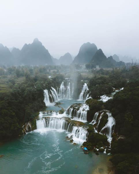 Waterfall paradise.