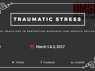 Register for MIMH's 2nd Annual Traumatic Stress Conference