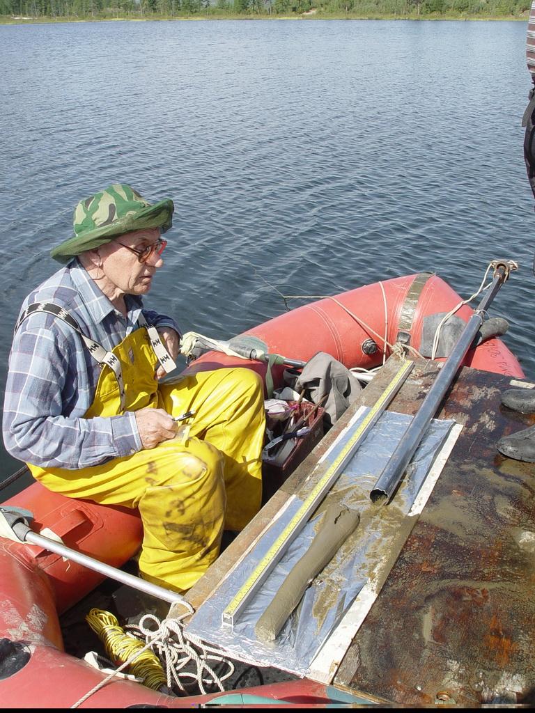 Бурение Курильских озер