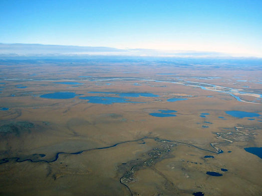 Anadyr lowland, lake and wetlands