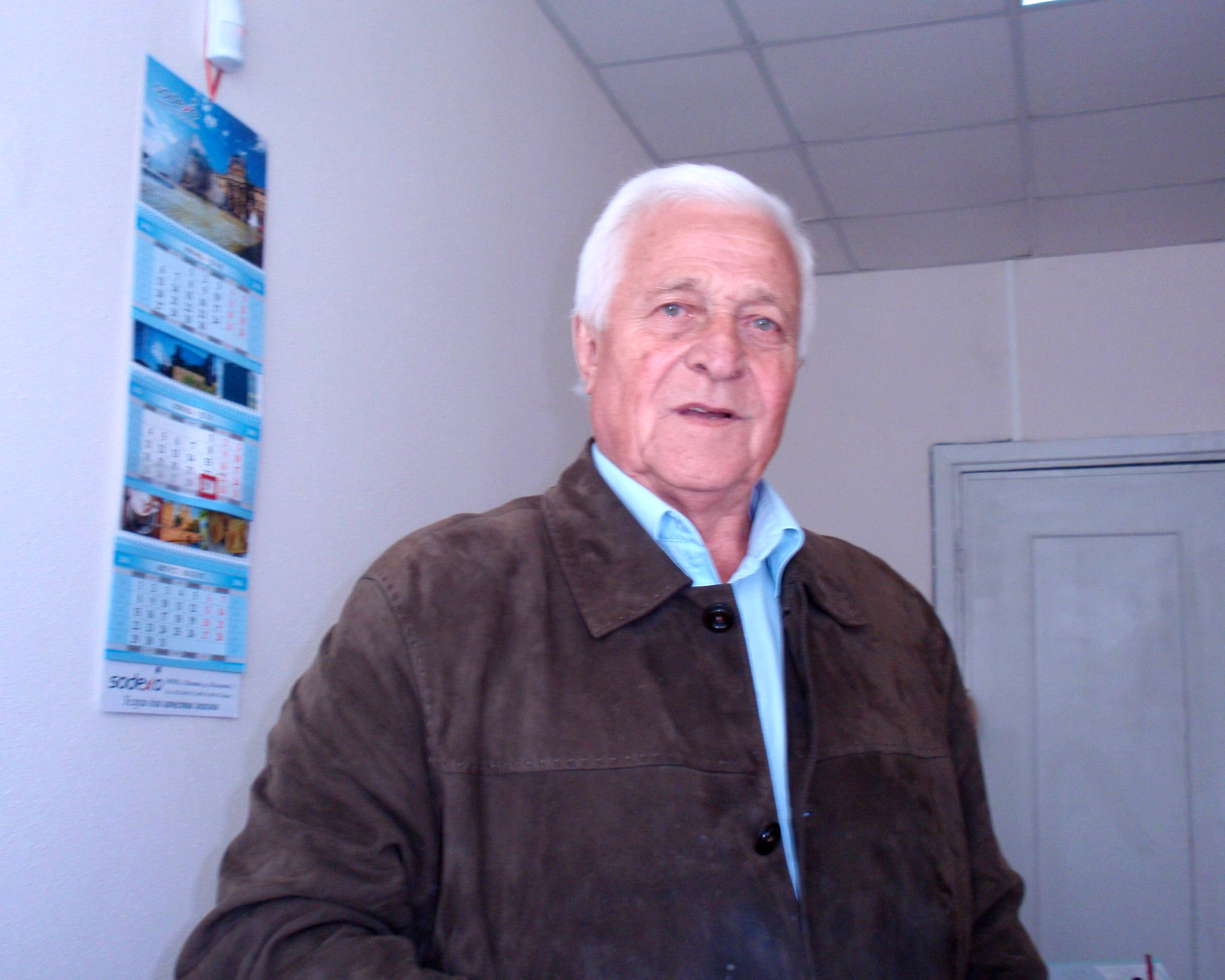 В. Глотов - руководитель группы. Октябрь 2016