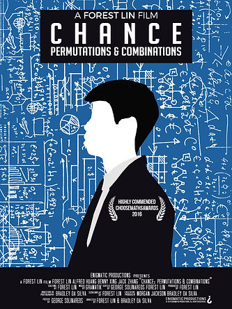Chance: Permutations & Combinations Poster