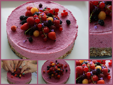 Báječné letní živé (RAW) dorty pro zdravé mlsání a hravé tvoření