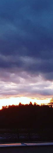 Neskutečně krásný západ slunka