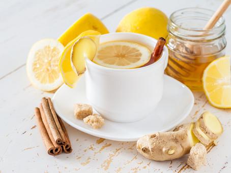 V hlavní roli zázvor – kořeněný zahřívací čaj a zimní zeleninová pánev