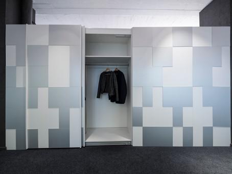 Garderobe und Raumtrenner in Einem