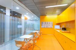 TNT Express canteen
