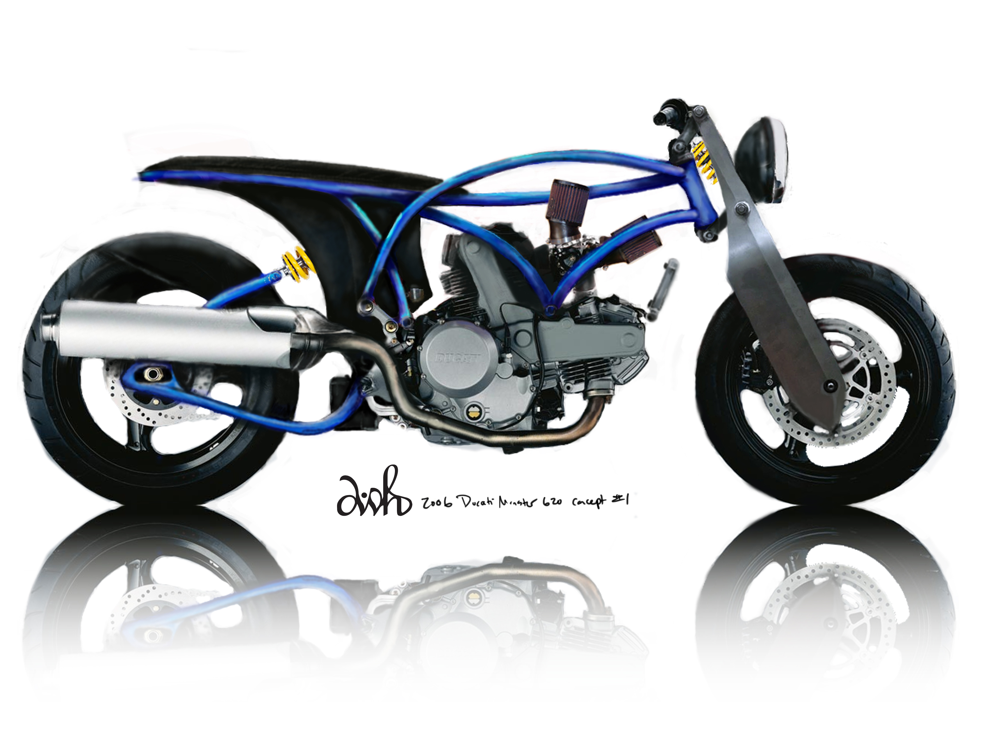 duc 620 concept right raw