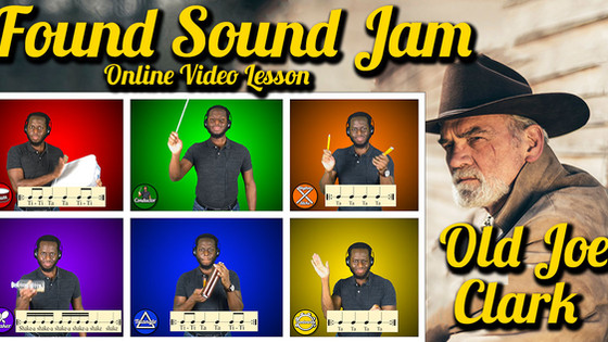 Found Sound Jam: Old Joe Clark (Video)