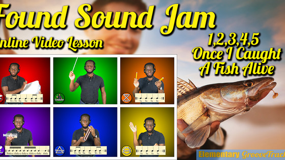 Found Sound Jam: Once I Caught A Fish Alive (Video)