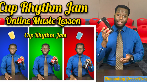 Cup Rhythm Jam! Online Video Lesson
