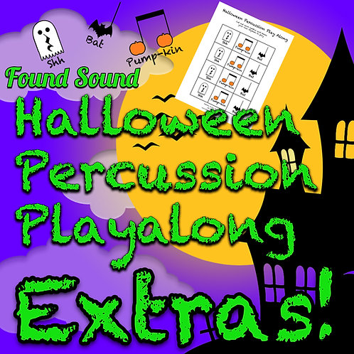 Halloween Percussion Play Along Extras