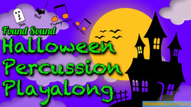 Halloween Percussion Playalong