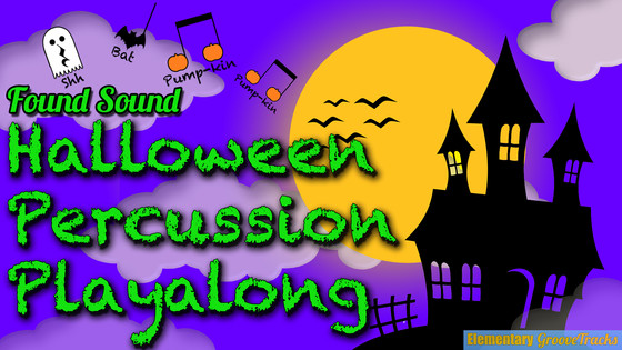 Halloween Percussion Playalong