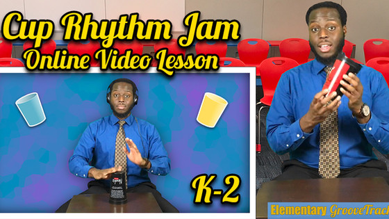 Cup Rhythm Jam K-2 (Simple Version)