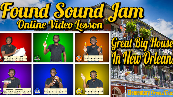 Found Sound Jam: Great Big House In New Orleans (Video)