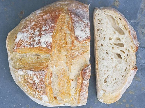 Yeast Free French Sourdough Bread - Large