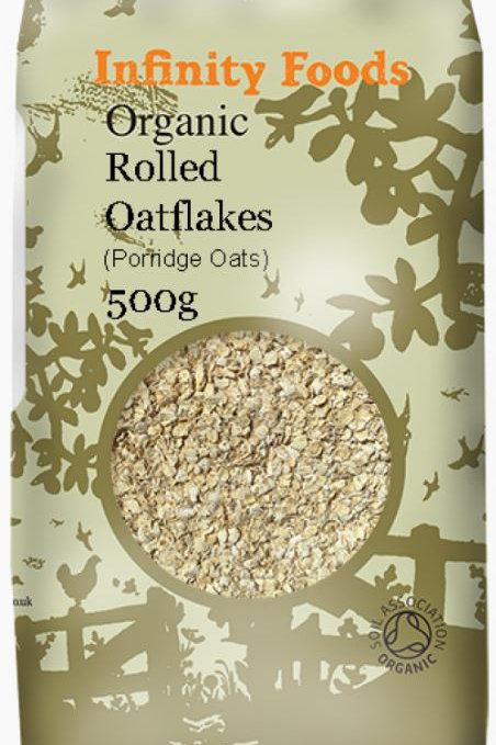 Organic Rolled Oatflakes - 500g