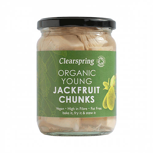 Organic Jackfruit (young chunks) in salted water - 500g
