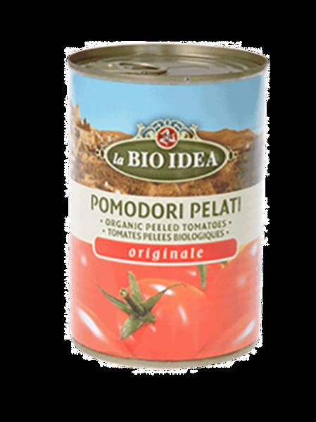 Organic Tomatoes - peeled in tins - 400g
