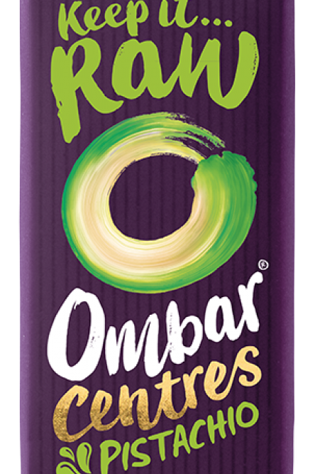 Organic Raw Pistachio Centres Chocolate - large - 70g