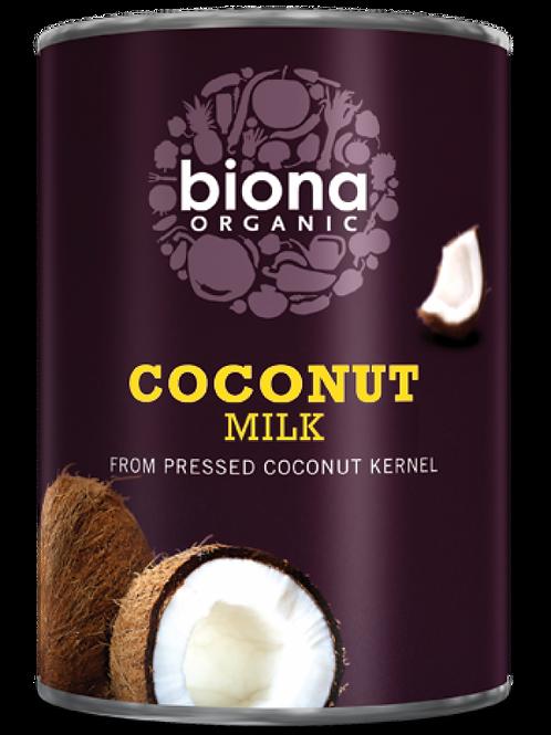 Organic Coconut Milk (17% fat) - large - 400g