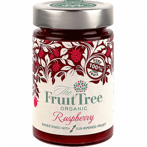 Organic Raspberry 100% Fruit Spread - 250g