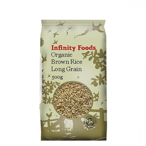 Organic Brown Rice Long Grain - 500g